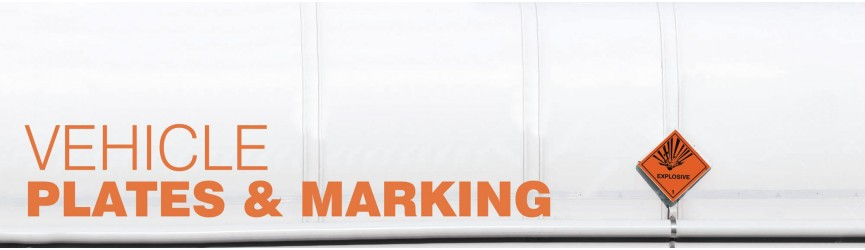 Vehicle Marking Signs