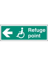 Refuge Point - Arrow Left