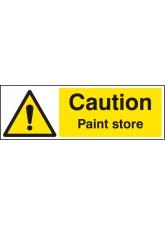 Caution Paint Store