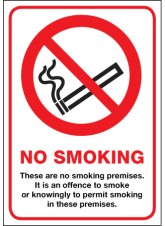 No Smoking Premises - (Scotland)
