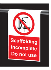 Roll Top - Scaffolding Incomplete - Do Not Use