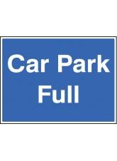 Car Park Full with Frame - 600 x 450mm