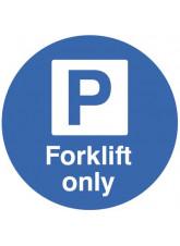 Floor Graphic - Forklift Parking