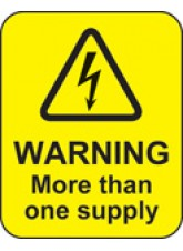 Warning More Than one Supply Labels