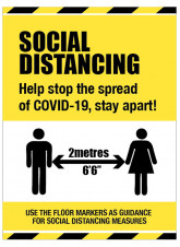 Social Distancing - Help Stop the Spread